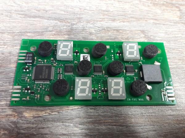 Termikel KFI6300, Bedienelektronik EGO 75.13105.001,Elektronik,Kochmulde,Ceranfeld,gebrauchtes,Ersatzteil ,Erkelenz